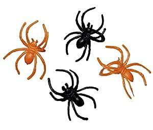 Halloween Spider Rings Party Favours x 30