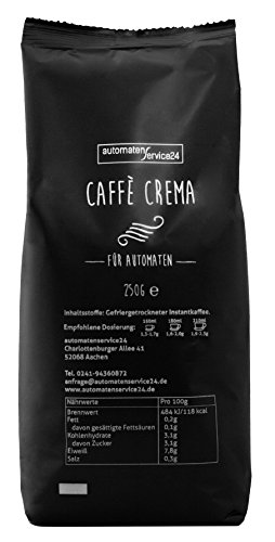 Caffè Crema Instant - Instantkaffee für Automaten