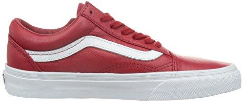 Herren Sneaker Vans Old Skool Zip Sneakers (premium leather) chili p