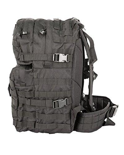 British Army Tactical Combat Rucksack Bergen Molle Black 40 Litre L New 2