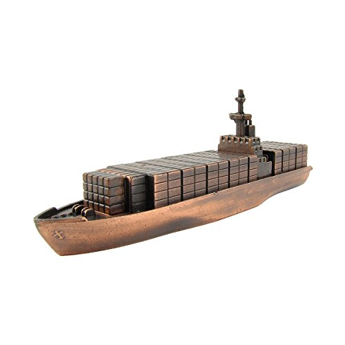 bronze-metal-container-cargo-ship-replica-die-cast-novelty-toy-pencil-sharpener