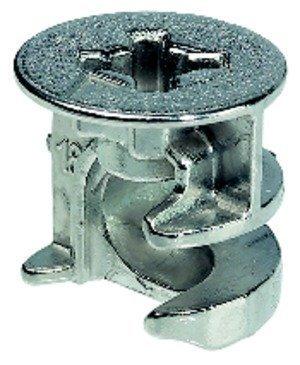 Preisvergleich Produktbild GedoTec® 100x Verbindergehäuse Korpusverbinder Minifix 15 für Klappenscharnier Klappenbeschlag Minifix