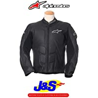 ALPINESTARS SP-1-GIACCA IN PELLE DA MOTO RACING MOTORBIKE & J S, COLORE: NERO - Alpinestars Sp1 Pelle