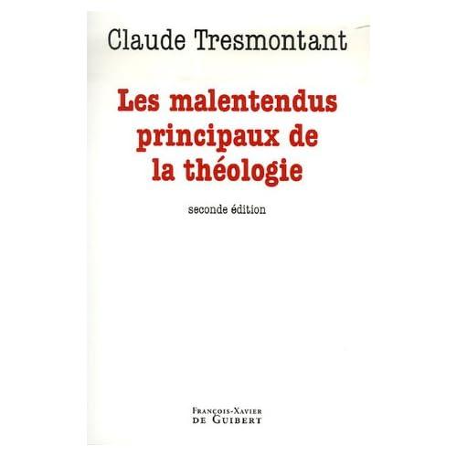Les malentendus principaux de la théologie