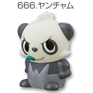 Pokemon Kids Kimewaza X.Y Puppet Figure~674 Yancham Pancham Pam-Pam Pandespiègle