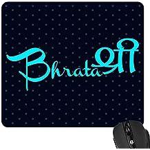 YaYa Cafe Birthday Gift for Brother Mousepad Bharatashree Rakhi