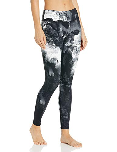 Alo Yoga Damen Airbrush Leggings, Black Blast, XX-Small