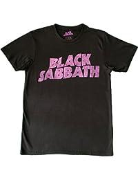 Black Sabbath Ozzy Wavy Logo Unisex Official T-Shirt Brand New Various Sizes