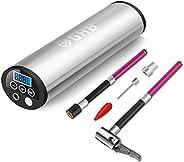 GHB Mini Compresor de Aire Inflador Eléctrico Bomba Eléctrica Portátil 150 PSI Recargable con Pantalla LCD - C