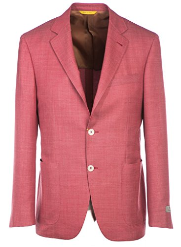 canali-jacket-open-weave-in-red-44uk