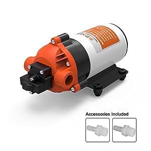 SeaFlo ad alta pressione pompa 12V DC 1,5gpm 80psi pompa a membrana interruttore automatico di acqua per Caravan/Camper/Barca/Marine