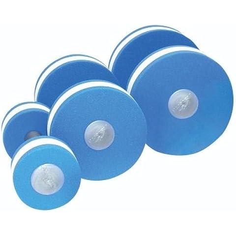 NEW Piscina Allenamento di Resistenza Esercizio & Fitness manubri Aqua aerobica, Blu cielo/Bianco