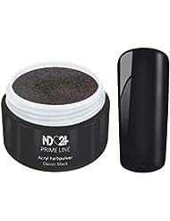 5G - PRIME LINE - ACRYL FarbPulver SCHWARZ - Feinstes FARB Acryl-Puder Acryl-Pulver Acryl-Powder - STUDIO QUALITÄT