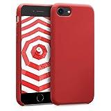 kwmobile Apple iPhone 7/8 Cover - Custodia per Apple iPhone 7/8 in Silicone TPU - Back Case Cellulare Rosso Scuro