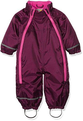 CareTec Baby Schneeanzug (verschiedene Farben), Rot (Grape Wine 6315), 74 - 2