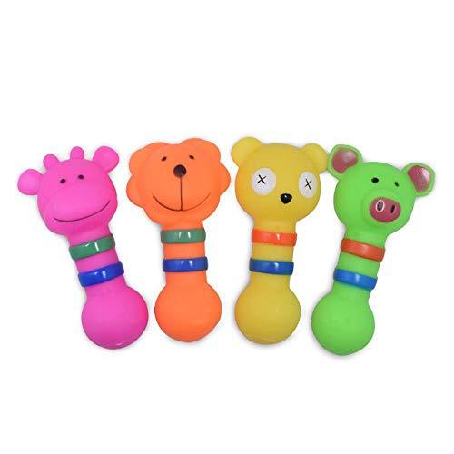 HUYDLD Heimtierbedarf Mode Gummi Hundespielzeug Kleintierform Hunde trainieren ihre Backenzähne zum Beißen Machen Sie einen Ton Haustierspielzeug Heimtierbedarf Hund Kauspielzeug S (Ihre Trainieren Sie Drachen)