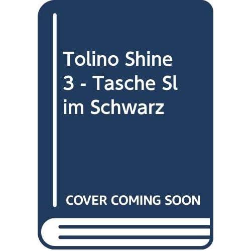 tolino shine 3 - Tasche Slim Schwarz