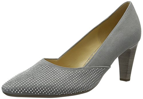 Gabor Shoes Damen Fashion Pumps, Grau (Stone 19), 38 EU
