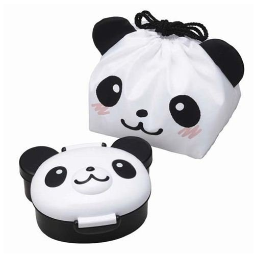 panda bear Bento Box lunch box with lunch bag from Japan by Kawaii
