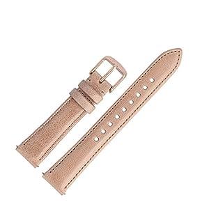Fossil Uhrenarmband 16mm Leder Beige – ES-4007   LB-ES4007