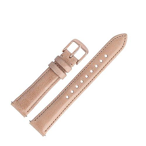 Fossil Uhrenarmband 16mm Leder Beige - ES-4007 | LB-ES4007