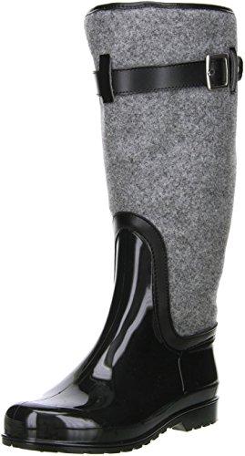 M&G Damen Winterstiefel Snowboots grau/schwarz Mehrfarbig