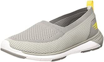 DFY Women's Strider Lt Grey/Yellow Multisport Training Shoes-7 UK/India (41 EU)(DWF18W500416-41)