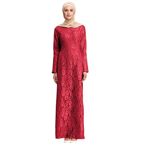 Muslimische Kleider aus Spitzen Stickerei Langes Schlank Maxikleid Muslim Robe Kleider Islamische Kleidung Abaya Dubai Hochzeit Kostüm Elegante Muslimischen Kaftan Kleid (Schärpe Stickerei)