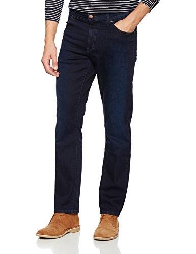 Wrangler Herren Jeanshose Original 5 Pocket Texas, Blau (DK), 33W/32L (Wrangler Polyester Hose)