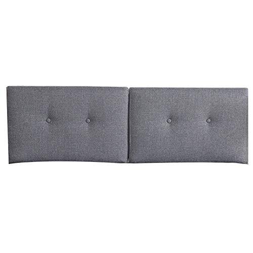 MEI XU MS Kissen Nachtkissen - Nordic Linen Schwammkissen Tatami Große Rückenlehne Abnehmbar und Waschbar Geeignet für Kein Bett (8 Farben) Mehrere Größen verfügbar (Farbe : G, größe : 190cm) -