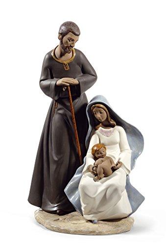 Nao by Lladro La Sagrada Familia Figura de Porcelana de la gres colección 2012007