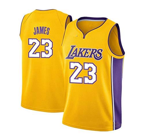 2019 Trikot Herren Jersey Lakers No.23 James Basketball Anzug Basketball-Bekleidungssets Für Herren Tops (S - XXXL)