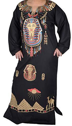 Für Erwachsenen Schwarzen Pharao Kostüm - Kleopatra Pharao Kostüm, Fasching Fastnacht Karneval