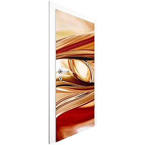 Carta da parati porta–Mandalay–Poster da porta–carta da parati fotografica porta, immagine foto carta da parati decalcomanie porta foto decorazione–Porta motivo porta Poster Carta Da Parati fotografica per la porta, HxB: 215 x 96 cm