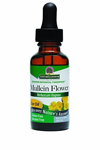 *Mullein Blume, Ohrenöl, Alkoholfrei, (30 ml)*