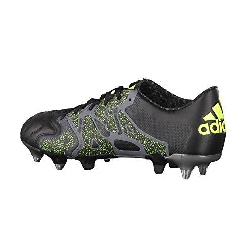 adidas Performance X15.1 Sg Leather Herren Fußballschuhe BLAU/RUNWHT