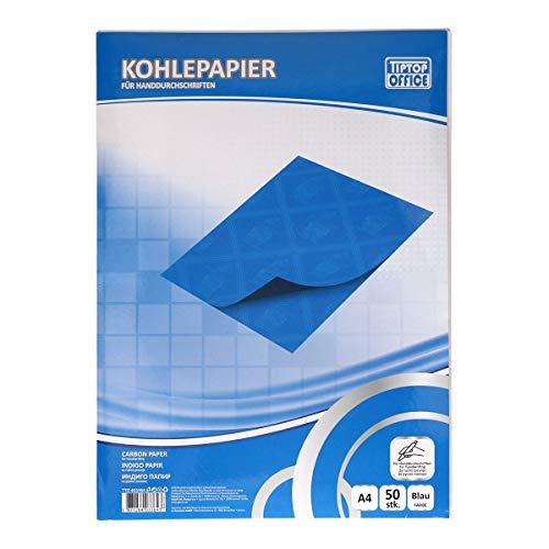 TTO Kohlepapier für Handschrift, Blau