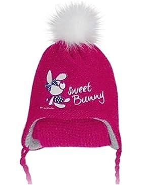 Winter Mütze Babymütze Mädchenmütze ( Nur 1 Stück , kein Set.) Edel Kindermütze Beanie Warm Gr: 46 - 50 cm Kopfumfang...