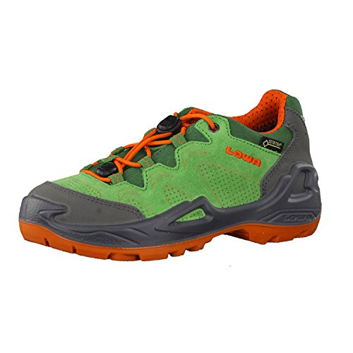lowa-jungen-outdoorschuhe-diego-gtx-low-340154-grun-orange-32