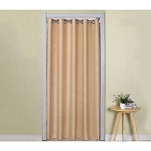 Liuyu · Lebendes Haus Tür Vorhang Verdickung Jacquard Tuch Vorhang abgeschnitten Haushalt Vier Jahreszeiten Schlafzimmer Wohnzimmer Küche Klimaanlage ( größe : 200*150cm )