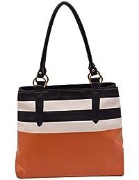 Suprino Bags Women's PU Leather Hand Made Shopper Bag