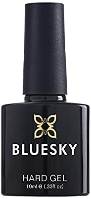Bluesky Builder Gel Nail Polish, Clear, UV/LED Soak-Off Gel Polish, 10ml