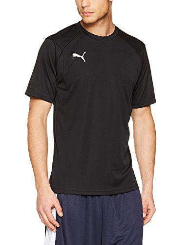 PUMA Erwachsene Liga Training Jersey Black White, XL -