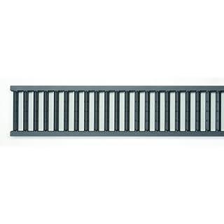 ACO Self® Stegrost 1000mm Anthrazit pulverbeschichtet Stahl verzinkt - Stegrost aus verzinktem Stahl & pulverbeschichtet