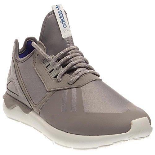 Uomo Adidas tubolare Runner Black / Brown 11 Esecuzione Athletic B35641 Grey / White