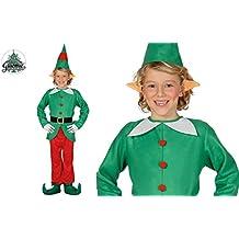 Amazon.it  costume elfo bambina - GUIRMA 8dc178c72259