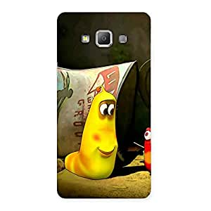 Special Naughty Friendly Cartoon Back Case Cover for Galaxy A7