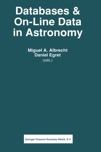 Databases & On-line Data in Astronomy (Astrophysics and Space Science Library)