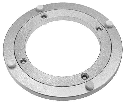 Ø140mm Drehkranz Aluminium Drehlager Drehteller Drehscheibe Lenkkranz Alu (Drehteller-lagerung)
