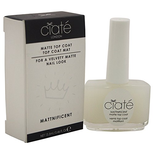 Ciate London Mattnificent Matte Top Coat Women\'s Nail Polish, 0.46 Ounce